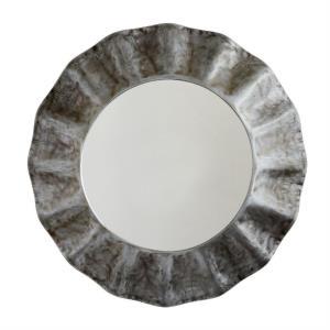 35.5 Inch Metal Frame Mirror