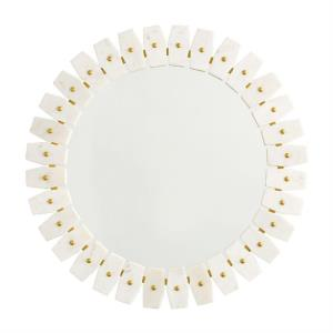 28.5 Inch Oval Decorative Mirror - in Transitional style - 28.5 high by 28.5 wide