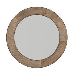 42.5 Inch Round Decorative Mirror