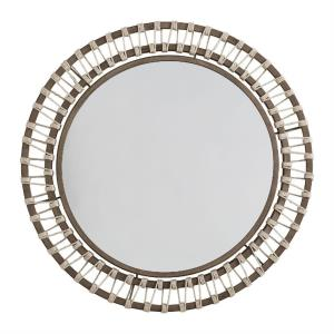 34.5 Inch Round Decorative Mirror - in Traditional style - 34.5 high by 34.5 wide
