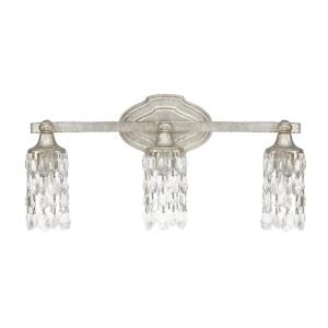Blakely 3 Light Transitional Bath Vanity Approved for Damp Locations