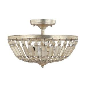 Fifth Avenue - Three Light Semi-Flush Mount