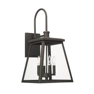 Belmore - Four Light Outdoor Wall Lantern