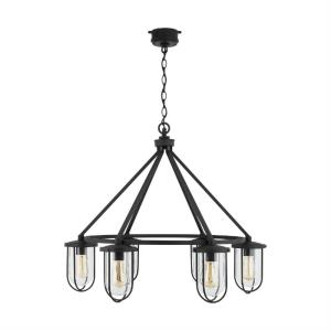 Corbin - 6 Light Outdoor Chandelier