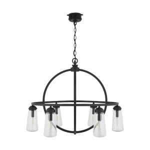 "25.5"" 6 Light Outdoor Chandelier"