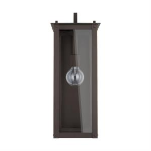 Hunt - 20.75 Inch 1 Light Outdoor Wall Mount - in Urban/Industrial style - 8 high by 20.75 wide