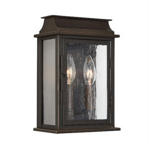 Bolton - 11 Inch 2 Light Small Outdoor Wall Mount