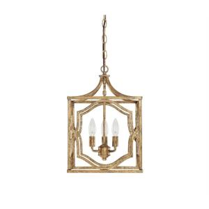 Blakely - 3 Light Dual Mount Foyer - in Transitional style - 12 high by 17.75 wide