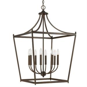 Stanton - 8 Light Foyer - in Transitional style - 22 high by 35.25 wide