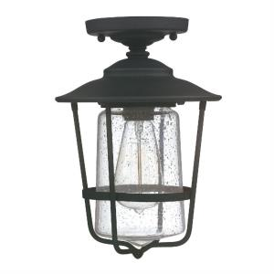 Creekside - 12 Inch 1 Light Outdoor Semi-Flush Mount