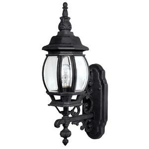 French Country - One Light Outdoor Wall Mount