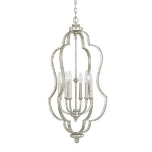Blair - 6 Light Foyer - in Transitional style - 18 high by 34 wide