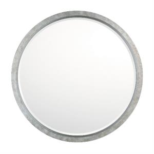32 Inch Round Decorative Mirror - in Transitional style - 32 high by 32 wide