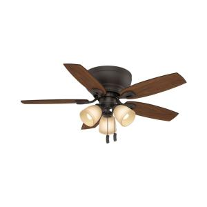 Durant 5 Blade 44 Inch Ceiling Fan with Pull Chain Control
