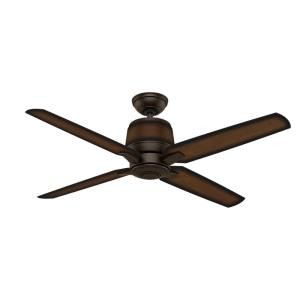 Aris 4 Blade 54 Inch Ceiling Fan with Wall Control