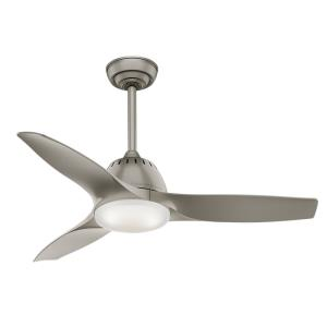 Wisp - 3 Blade 44 Inch Ceiling Fan with Handheld Control in Modern Casual Style and includes 3 Motor Speed settings