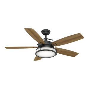 Caneel Bay 5 Blade 56 Inch Ceiling Fan with Wall Control