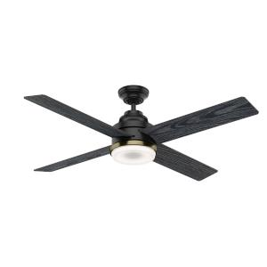 Daphne 4 Blade 9 Inch Ceiling Fan with with Wall Control