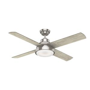 Levitt 4 Blade 54 Inch Ceiling Fan with with Wall Control