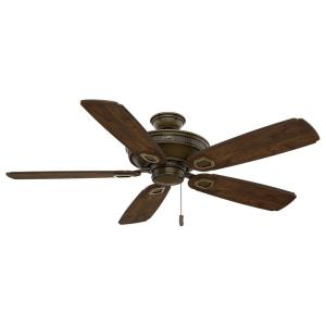 Heritage - 5 Blade 60 Inch Ceiling Fan in Farmhouse Traditional Style and includes 5 Motor Speed settings