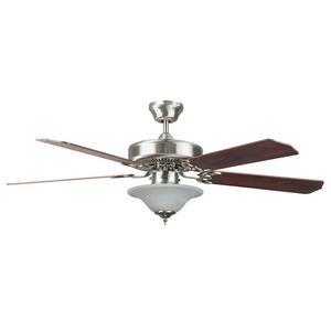 Heritage - 52 Inch SQ Fan w/Bowl Light