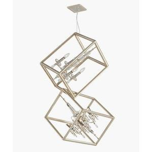 Houdini - Eight Light 2-Tier Pendant