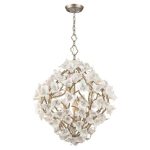"Lily - 39.5"" Six Light Medium Pendant"