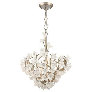 "Lily - 42"" Six Light Medium Pendant"