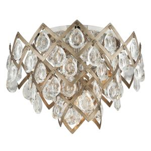 Tiara - Three Light Semi-Flush Mount