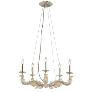 Cielo - 13.25 Inch Five Light Chandelier