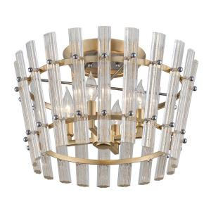 Sauterne - Four Light Semi-Flush Mount
