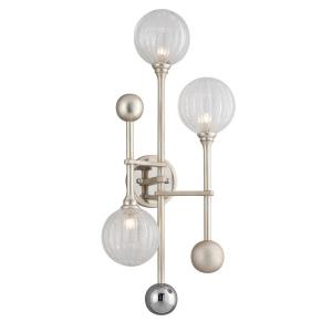 Majorette - Three Light Wall Sconce