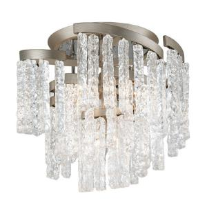 Mont Blanc - Five Light Semi-Flush Mount