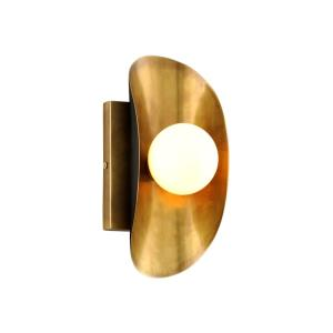 Hopper - One Light Wall Sconce