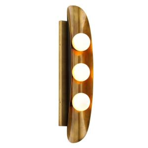 Hopper - Three Light Wall Sconce