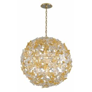 Milan - Eight Light Globe Pendant