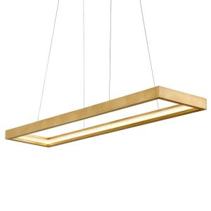 Jasmine - 60 Inch 96W 1 LED Linear Pendant