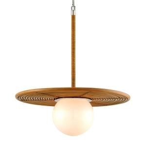"""Hula Hoop - 25"""" One Light Pendant"""
