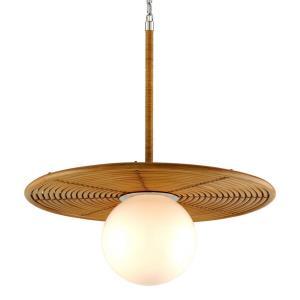 """Hula Hoop - 36"""" One Light Pendant"""