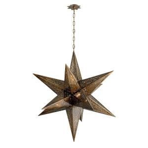 Star Of The East - Five Light Chandelier