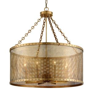 Rotunda - Eight Light Chandelier