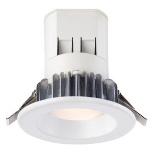 """DF Pro - 4"""" 11.72W 1 5000K LED Easy Up Recessed Light with J-Box (No Can Needed)"""
