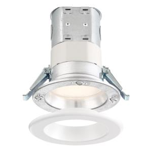 "DF Pro - 4"" 10.6W 1 2700K LED Easy-Up Remodel Magnetic Recessed Light"