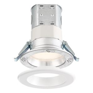"DF Pro - 4"" 10.6W 1 3000K LED Easy-Up Remodel Magnetic Recessed Light"