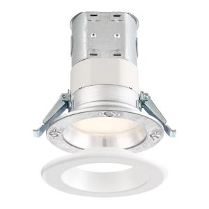 "DF Pro - 4"" 10.6W 1 3500K LED Easy-Up Remodel Magnetic Recessed Light"