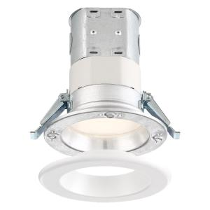 "DF Pro - 4"" 10.6W 1 4000K LED Easy-Up Remodel Magnetic Recessed Light"