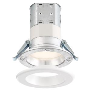 "DF Pro - 4"" 10.6W 1 5000K LED Easy-Up Remodel Magnetic Recessed Light"
