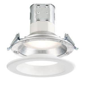 "DF Pro - 6"" 11.5W 1 3500K LED Easy-Up Remodel Magnetic Recessed Light"