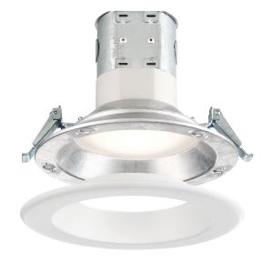 "DF Pro - 6"" 11.5W 1 5000K LED Easy-Up Remodel Magnetic Recessed Light"