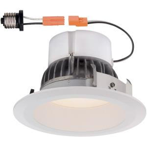 "DF Pro - 4"" 11W 1 2700K LED Deep Splay Ceiling Recessed Trim Light"